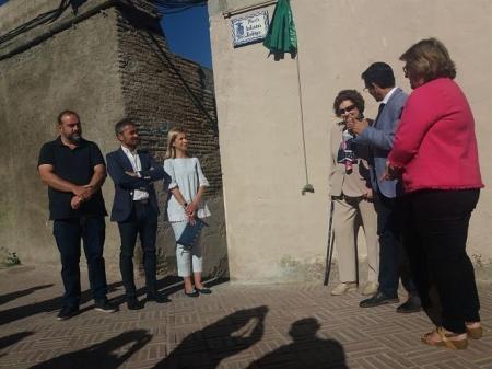 Francisco Cuenca ha inaugurado la Placeta `Antonia Rodrigo` (EUROPA PRESS)