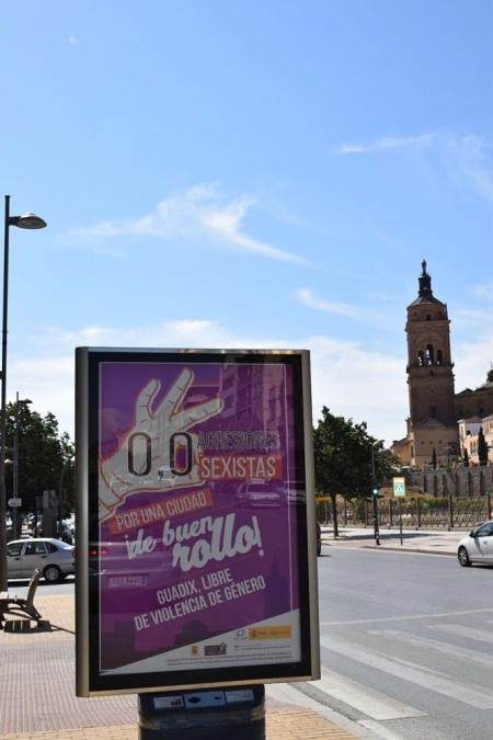 Nueva campaña contra las agresiones sexistas en Guadix (AYTO. GUADIX)