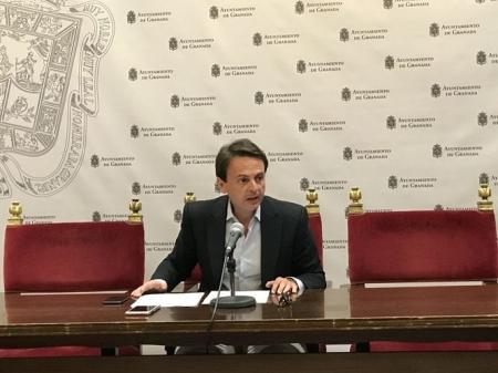 Juan Antonio Fuentes, portavoz del PP en el Ayuntamiento de Granada (PP)