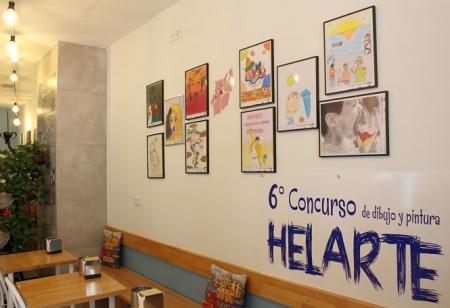 Obras ganadoras del VI Concurso de dibujo y pintura Helarte