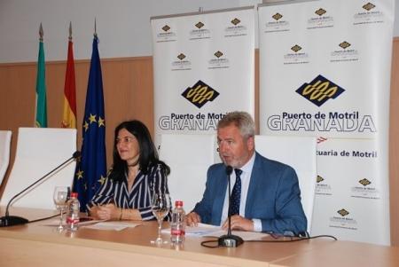 La subdelegada del gobierno y el presidente de la autoridad portuaria han explicado la OPE 2019 (PUERTO DE MOTRIL)