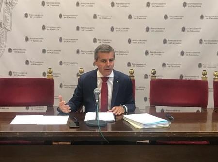 César Díaz, concejal de seguridad en el Ayuntamiento de Granada (AYTO. GRANADA)