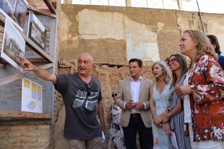 La Consejera de Cultura, Patricia del Pozo ha visitado el Maristán (JUNTA)