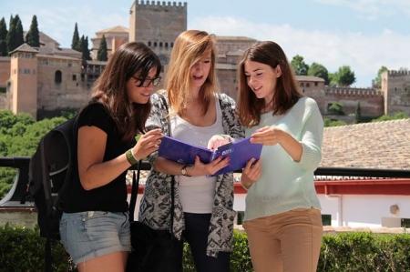 Alumnas de Erasmus (UGR)