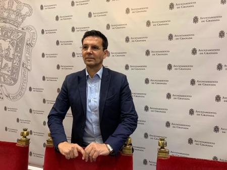 Francisco Cuenca en rueda de prensa (PSOE)