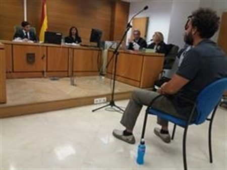 Jesus Candel en la sala de juicio (EUROPA PRESS)