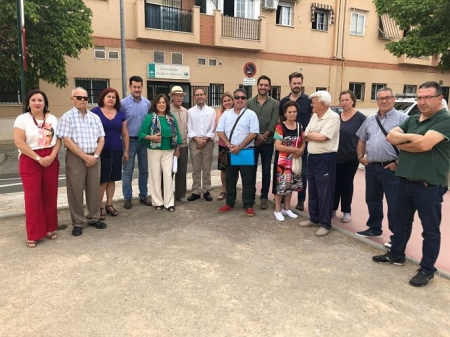 Miembros del PSOE han visitado el Centro de Salud del Cerrillo de Maracena (PSOE)