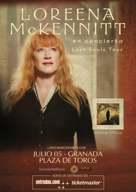 Loreena McKennitt acturará en Granada (PROEXA)