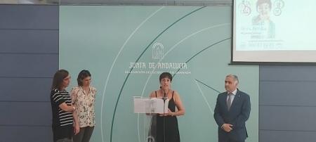 la presidenta de la Asociación Aldaima, Karima Elharchi Biro ha presentado la campaña (JUNTA)