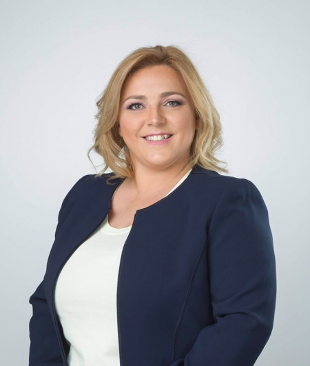 Purificación López, portavoz del PSOE en el Ayuntamiento de La Zubia (PSOE)