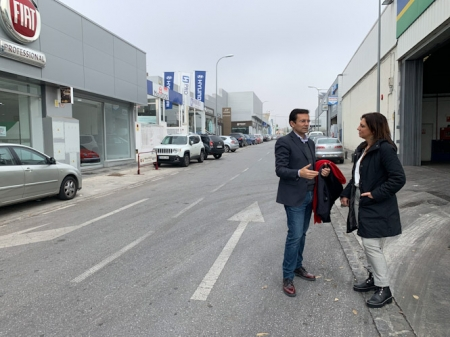 Visita al Polígono (PSOE)
