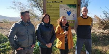 Miembros de Adelante Andalucia en las Lagunas de Padul (ADELANTE)