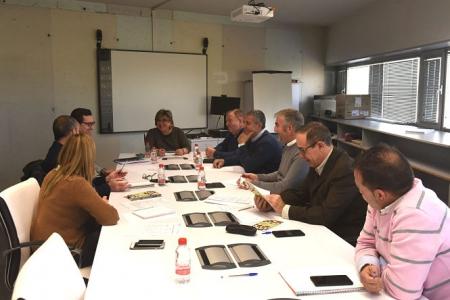 Reunión de la mesa del Pistacho (M. JIMÉNEZ / DIPGRA)
