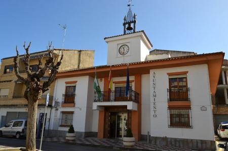 Fachada del Ayuntamietno de Churriana
