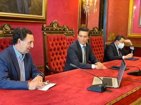 Presentación del Consejo Social de Granada (AYUNTAMIENTO)
