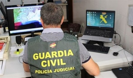Agente de la Guardia Civil en una foto de archivo (GUARDIA CIVIL)