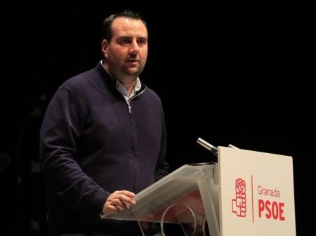 Álex Casares, secretario de Organización del PSOE de Granada, en imagen de archivo (PSOE)
