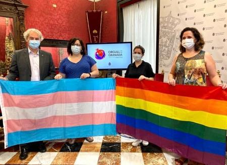 Presentación de las actividades del Día del Orgullo Gay (AYUNTAMIENTO GRANADA)