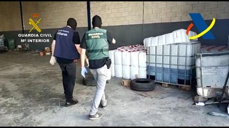 Imagen de la Operación Tavan (GUARDIA CIVIL)