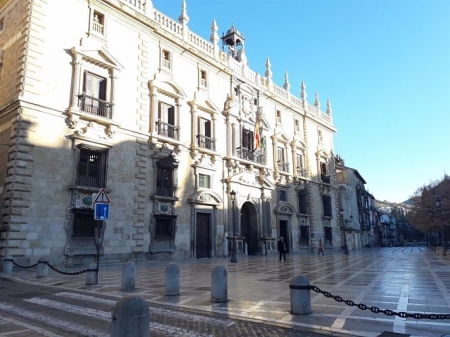Real Chancillería de Granada, sede del TSJA (EUROPA PRESS)