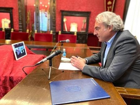 El concejal de Hacienda y Derechos Sociales de Granada, José Antonio Huertas, en imagen de archivo (AYUNTAMIENTO)