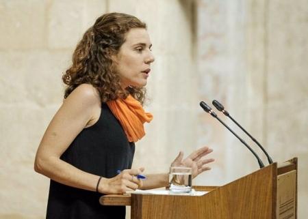 La parlamentaria de Adelante Andalucía Ana Villaverde (ADELANTE ANDALUCÍA)