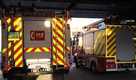 Camión de bomberos en un imagen de archivo (112)