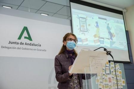 La Delegada de Educación, igualdad y Deporte, Ana Berrocal (JUNTA)