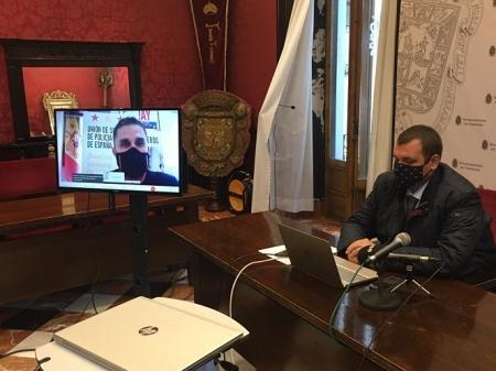 Onofre Miralles, portavoz de Vox en el Ayuntamiento de Granada (VOX)
