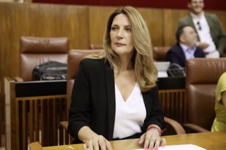 La parlamentaria Andaluza de Ciudadanos, Concha Insúa (CS)