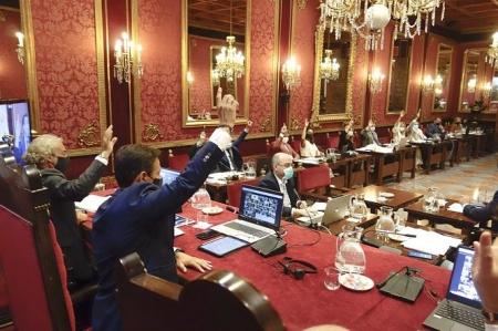 Pleno del Ayuntamiento de Granada, en imagen de archivo (AYUNTAMIENTO DE GRANADA)