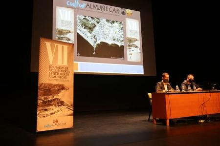 Acto inaugural de las jornadas aqueológicas de ALmuñécar (AYTO. ALMUÑÉCAR)