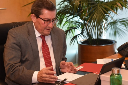 El Presidente de la Diputación de Granada, José Entrena (DIPUTACIÓN)