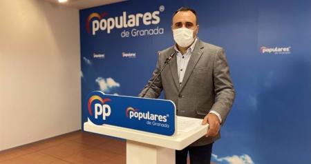 El presidente del PP de Granada, Francisco Rodríguez (PP)