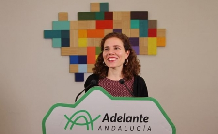 La parlamentaria Andaluza de Adelante Andalucía, Ana Villaverde (ADELANTE)