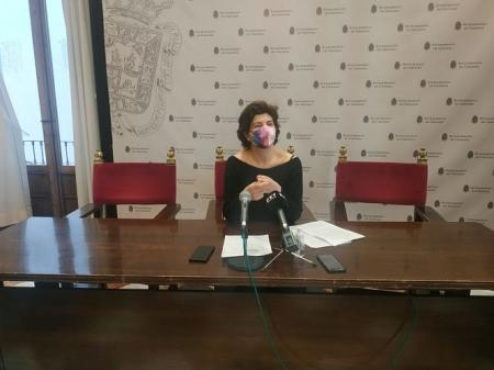 La concejal de Podemos-IU en el Ayuntamiento de Granada, Elisa Cabrerizo (PODEMOS-IU)