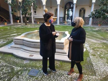 Elisa Cabrerizo y Maria de Leyva han presentado la moción (PODEMOS-IU)