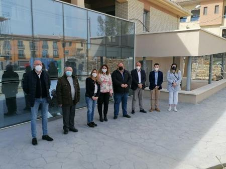 Imagen de la visita a la asociación de personas con discapacidad intelectual 'San José' (CIUDADANOS)