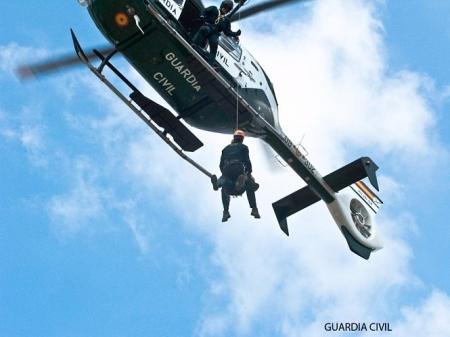 Rescate de la Guardia Civil (SEREIM/ARCHIVO)