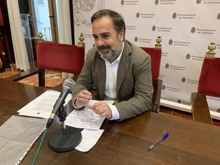 El Concejal del PSOE en el Ayuntamiento de Granada, Jacobo Calvo (PSOE)