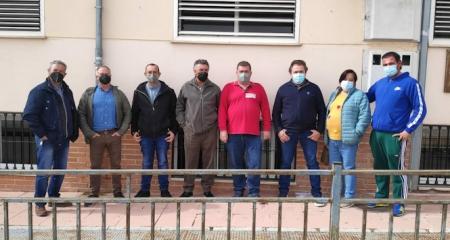 Trabajadores de limpieza de Íllora que han sido despedido (CCOO)