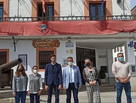 Imagen de la visita a Lanjarón (JUNTA)
