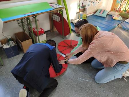 Preparación de la exposición (AYTO. HUÉTOR TAJAR)