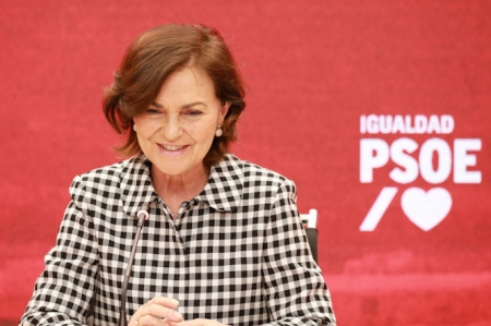 La vicepresidenta del gobierno, Carmen Calvo (PSOE)