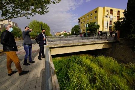 Imagen de la visita al Río Monachil (PSOE)