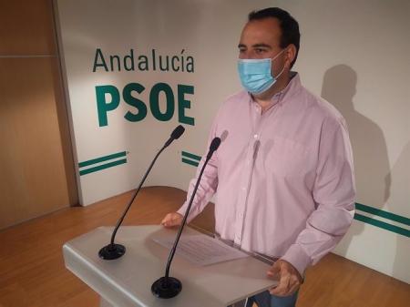 El secretario de Organización del PSOE de Granada, Álex Casares, en imagen de archivo (PSOE)